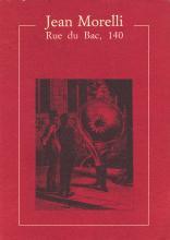 Copertina del libro rue du bac 140